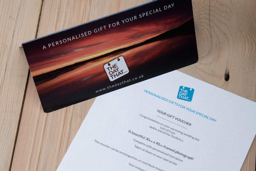 The Day That Gift Voucher