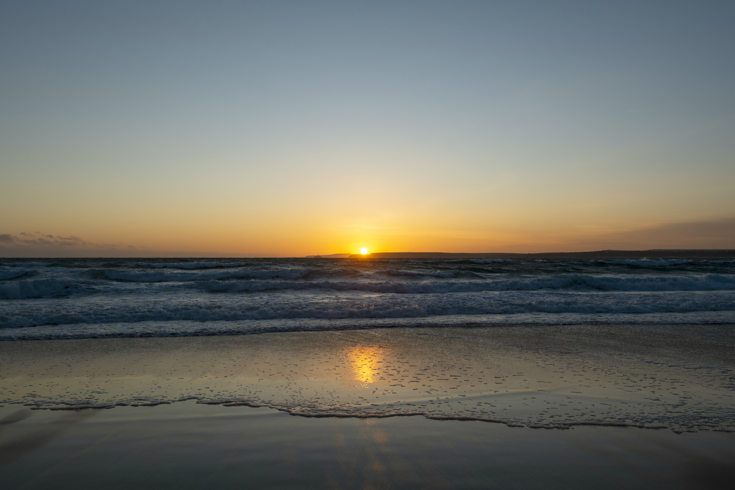 Kieran's first sunrise after 53 days in iso!